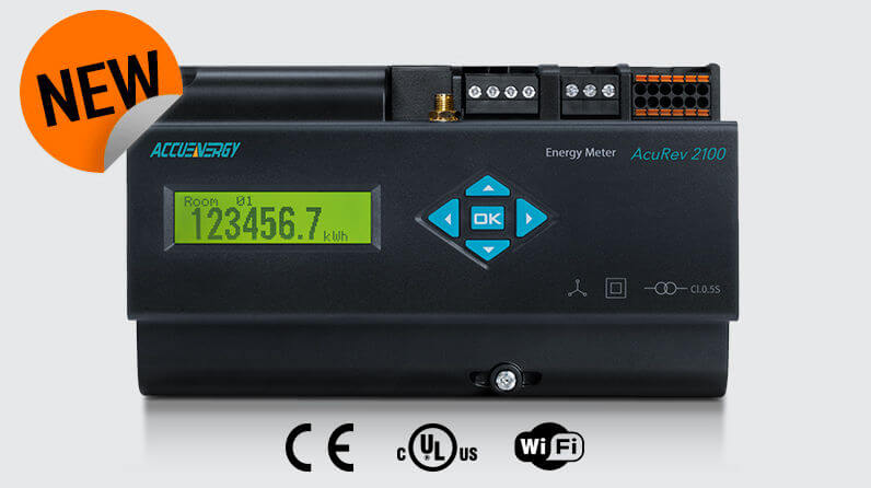 New product - AcuRev 2100 Multi-Circuit Meter
