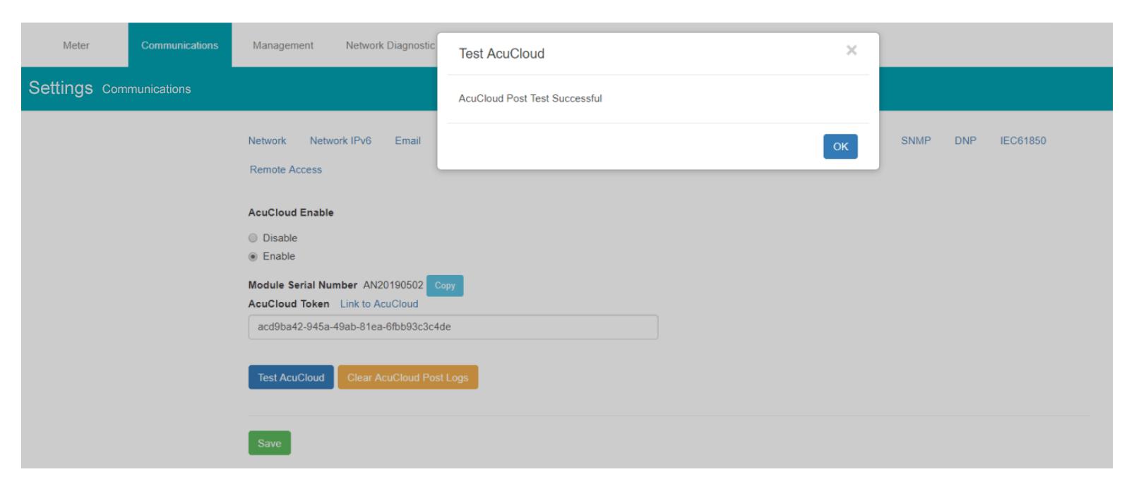 Test AcuCloud